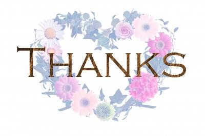 皆様、ありがとうございます♪