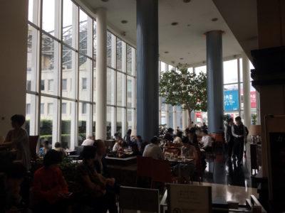 東京のお見合い場所-渋谷エクセルホテル東急 エスタシオンカフェ