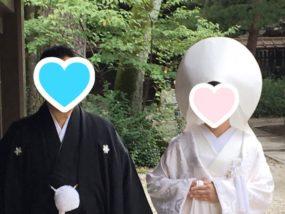 和装の素敵な結婚式!ご成婚者カップルが挙式されました♪