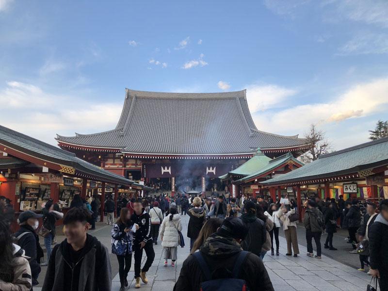 プロフィール交換会と浅草寺でお参りしてきたお話