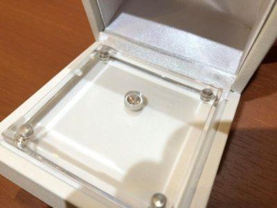 プロポーズ用のダイヤモンド