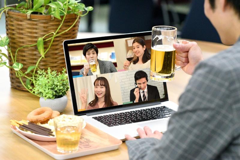 気軽にオンライン飲み会『おうち de 飲み会』