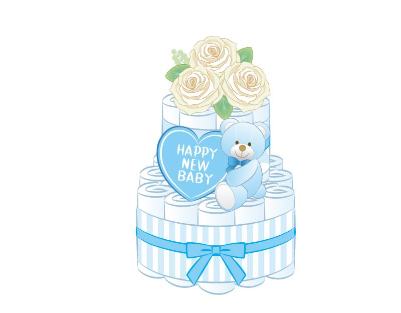 【なんぼでもあげたい】成婚者の出産祝いにはおむつケーキ!